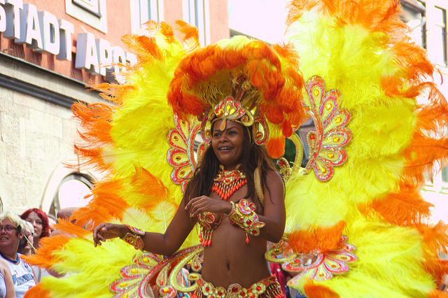 Espectáculo de Samba. Bailando al ritmo de la Samba