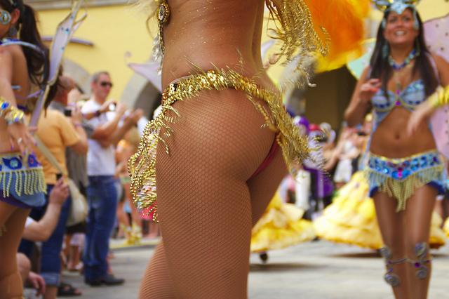 Argentina bailando desnuda bailarina de tv - 1 4