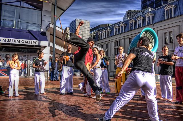 Baile de la Capoeira brasileña