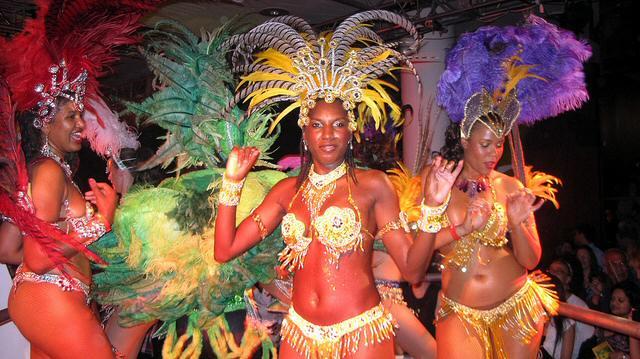 Samba en el carnaval de Brasil